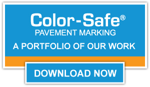 color safe portfolio download cta button