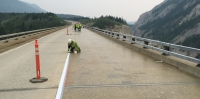 Alaska DOT finishes 8400sq/ft bridge